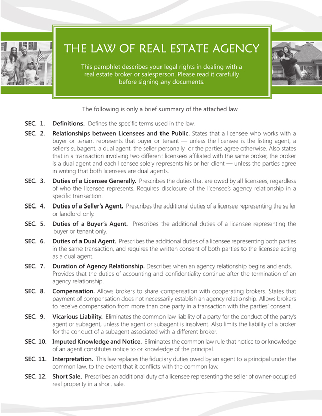 WA Agency Law - Page 1 of 7