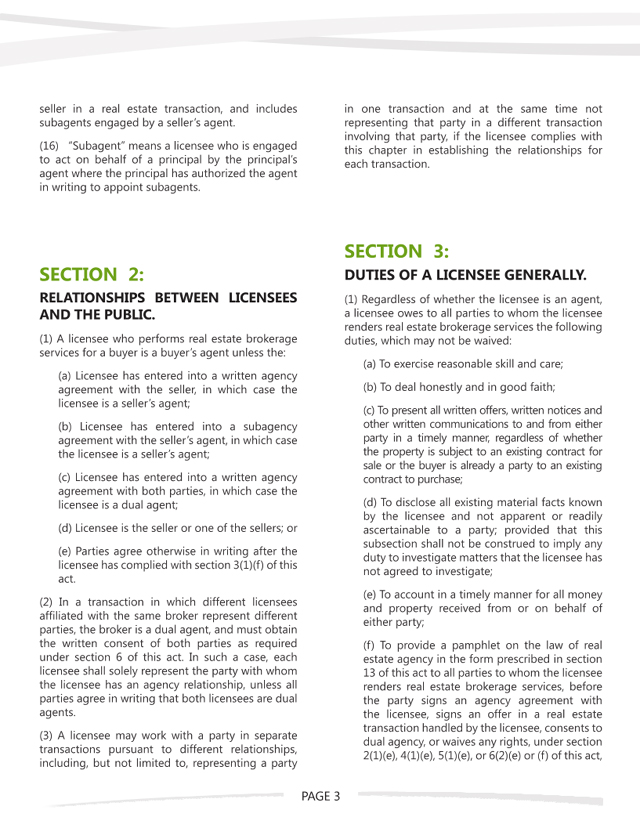 WA Agency Law - Page 3 of 7
