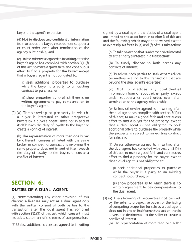 WA Agency Law - Page 5 of 7