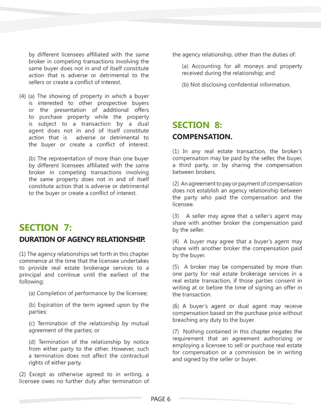 WA Agency Law - Page 6 of 7